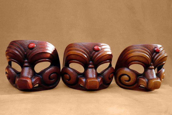 Masque Commedia Dell'Arte Arlequin Bouffon