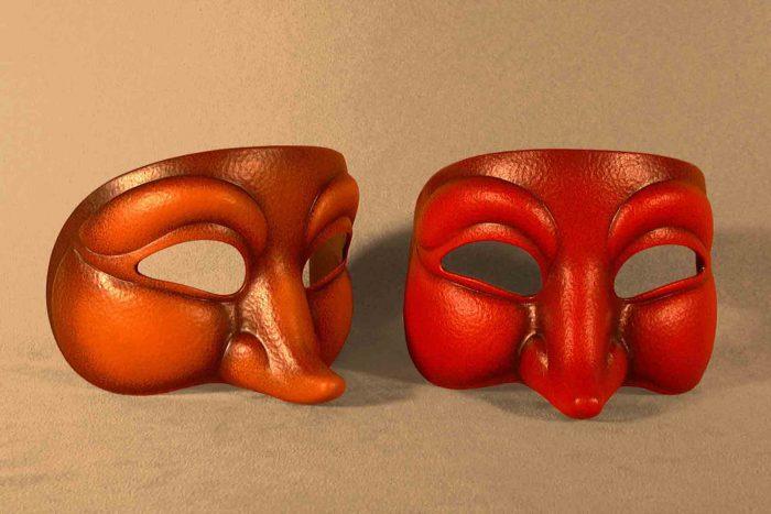 Masque Théâtre Curieux