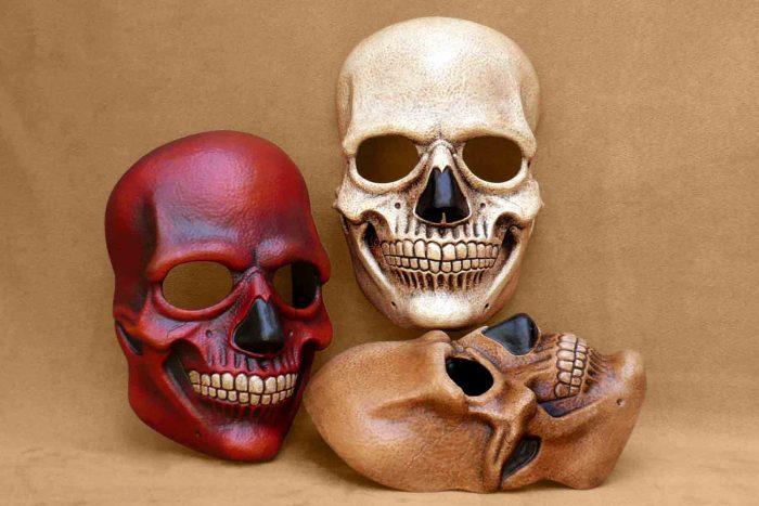 Masque Carnaval La Mort