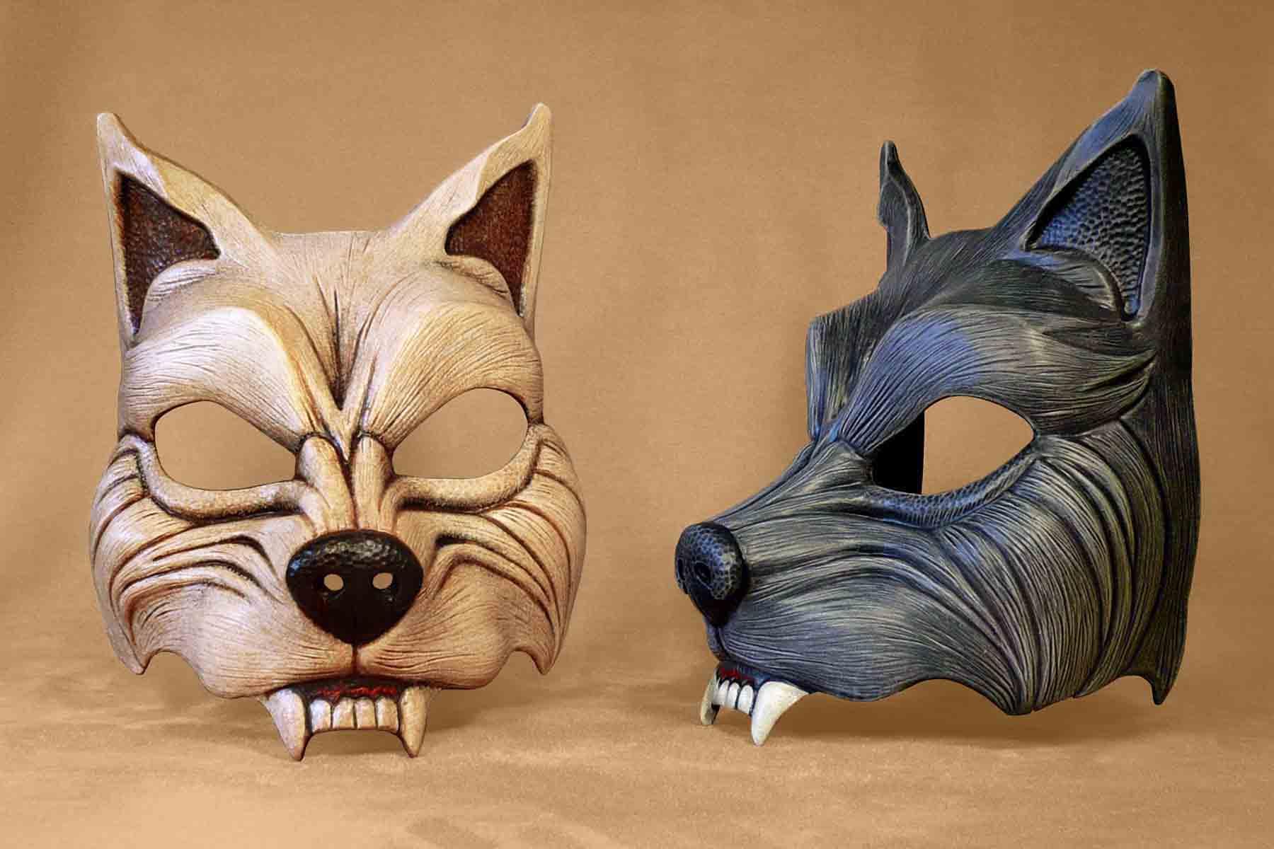 Masque Animal Loup