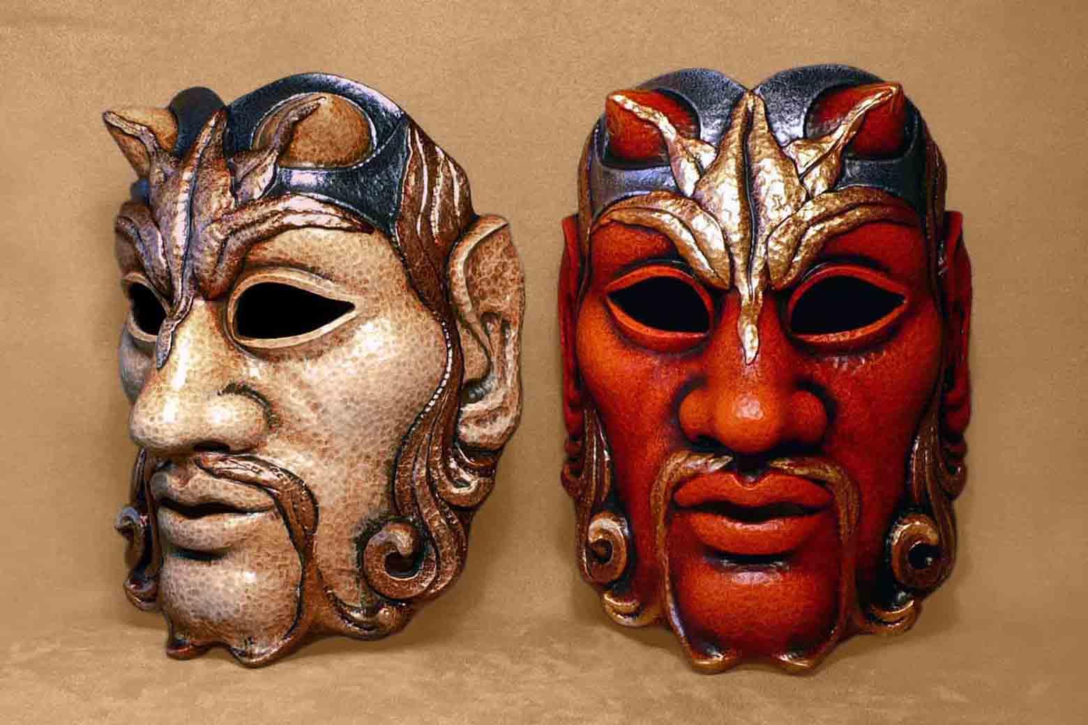 Masque Carnaval Satyre