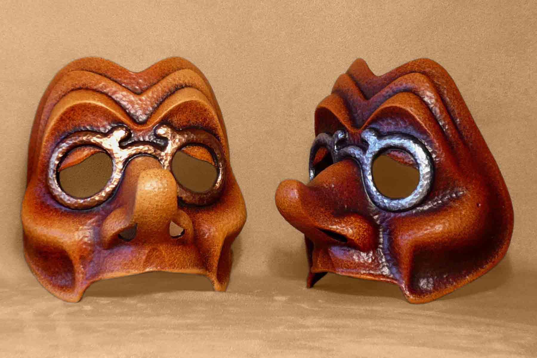 Masque Commedia Dell'Arte Tartaglia