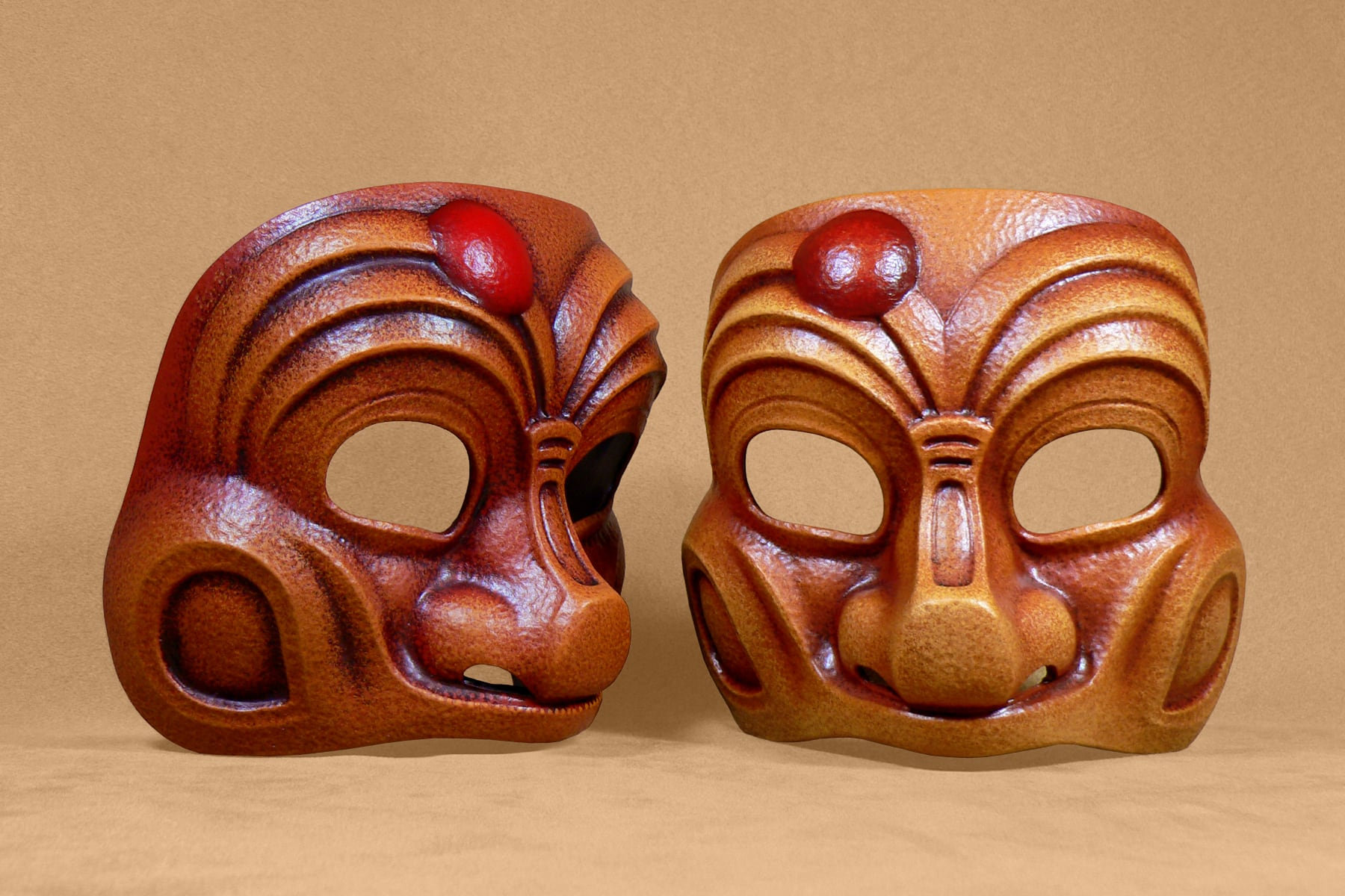 Masque Comedia Dell'Arte Arlequin Classique Moyen