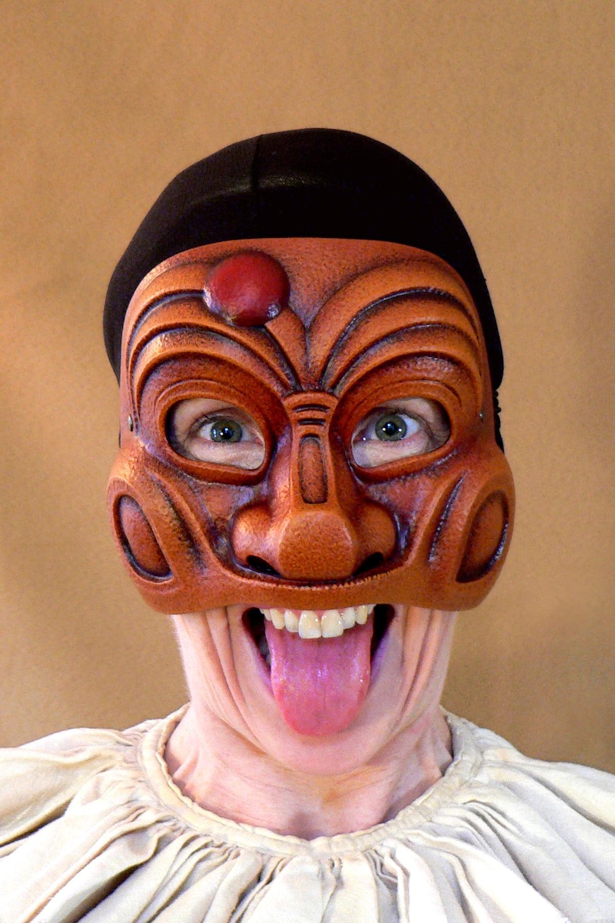 Masque Comedia Dell'Arte Arlequin Classique