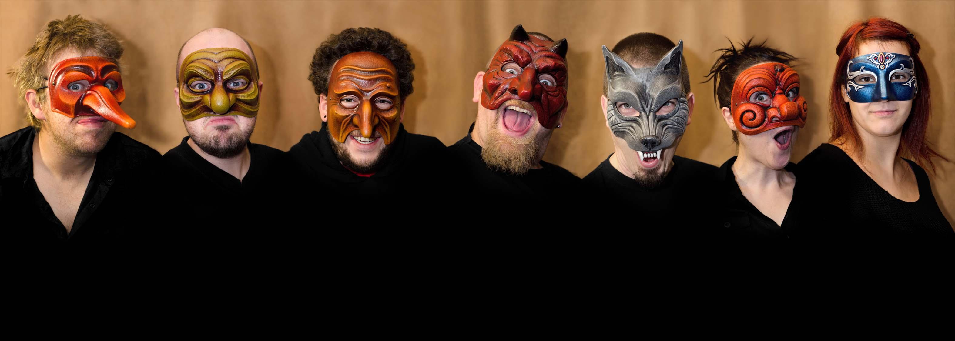 Atelier Pirate - Sélection de masques - Masks selection