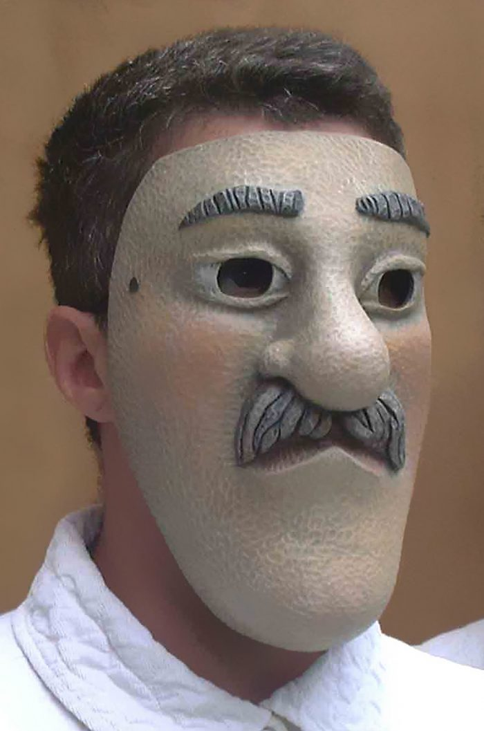 Masque Loup Monsieur
