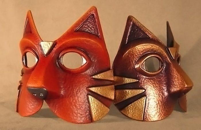 Masque Animal Chat