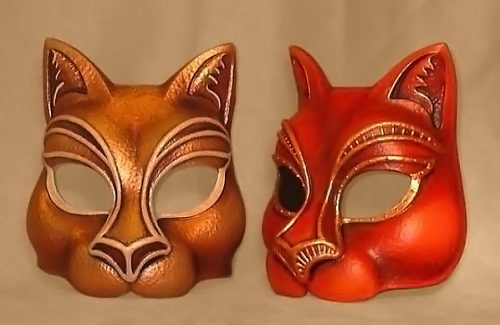 Masque Animal Chat Botté
