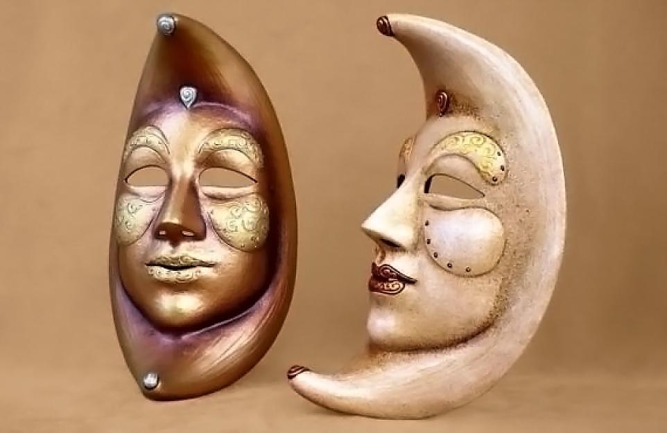 Masque Carnaval Lune