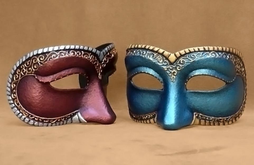 Masque Loup Précieux