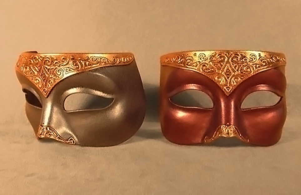 Masque Loup Vénitien Moyen