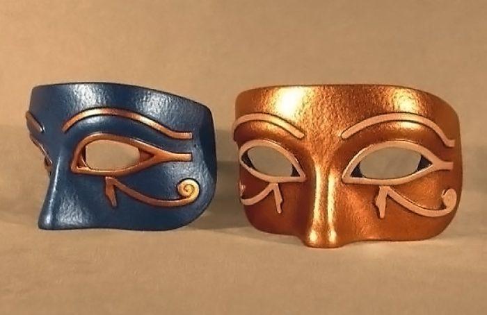 Masque Loup Égyptien