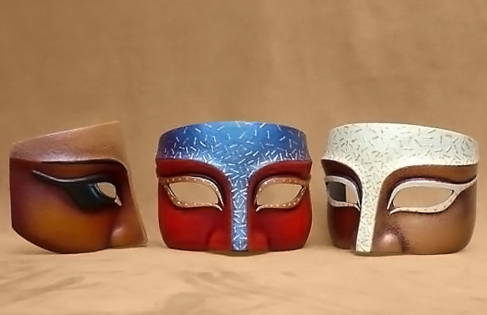 Masque Loup Grec