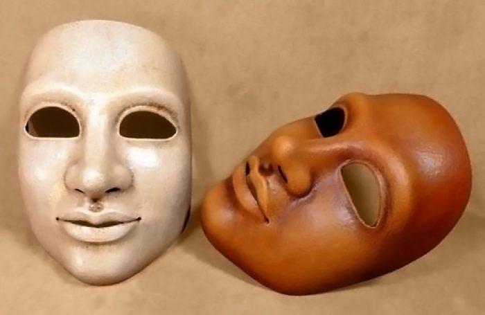 Masque theatre femme