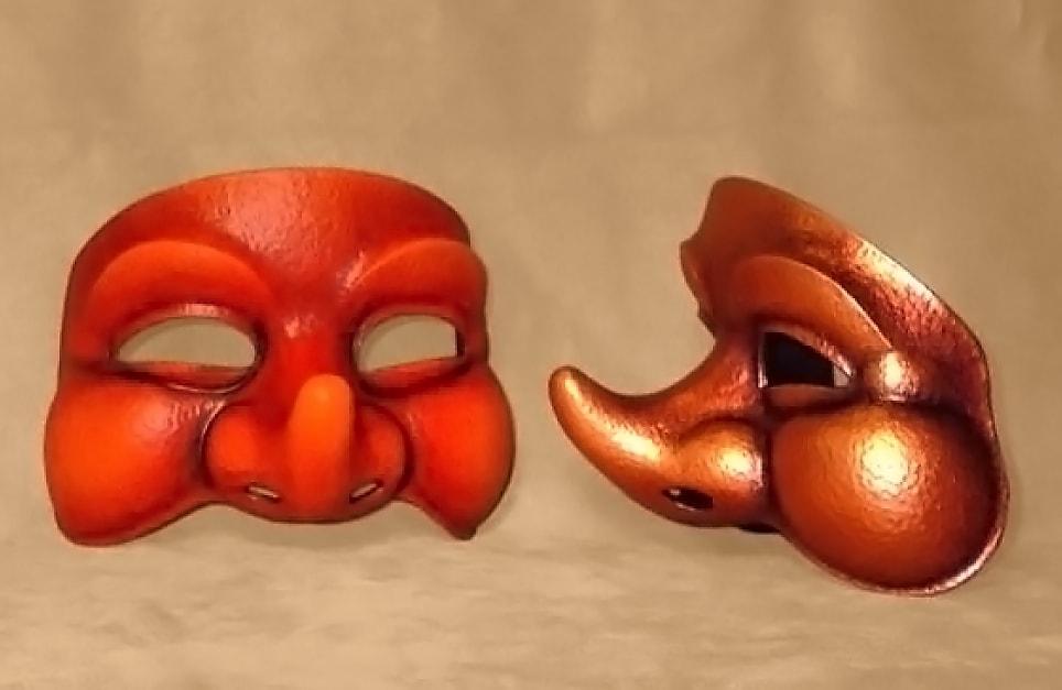Masque théâtre Loupiot