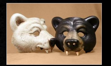 Masque animal ours